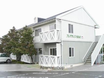 長野県松本市、村井駅バス11分白川東下車後徒歩5分の築25年 2階建の賃貸アパート
