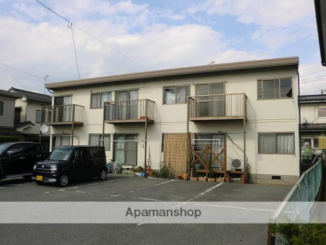 長野県松本市、南松本駅バス14分野溝口下車後徒歩5分の築35年 2階建の賃貸アパート
