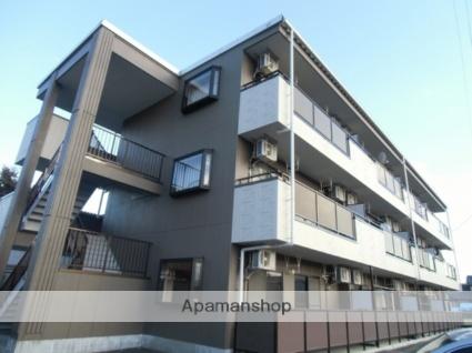 長野県松本市、松本駅バス20分野溝口下車後徒歩10分の築17年 3階建の賃貸アパート