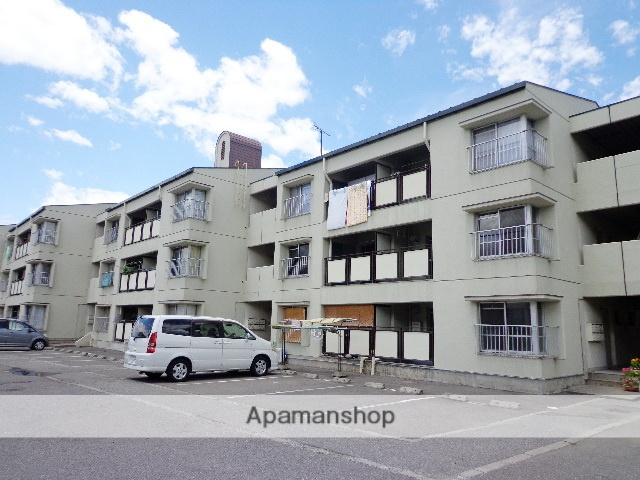 長野県松本市、松本駅バス10分富士電機前下車後徒歩7分の築39年 3階建の賃貸マンション