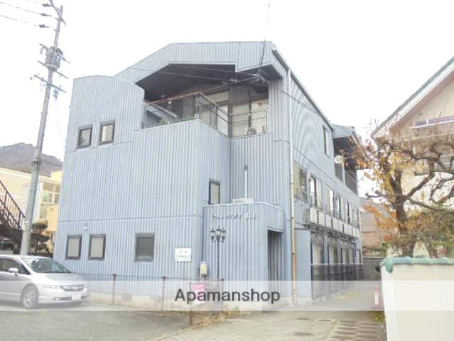 長野県長野市、長野駅徒歩12分の築20年 3階建の賃貸マンション
