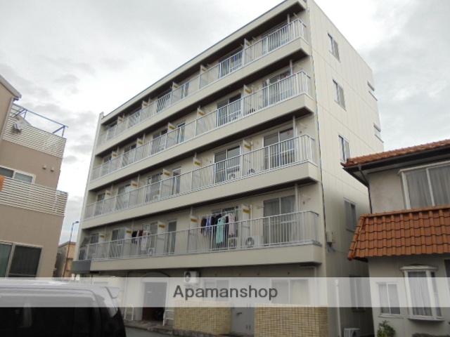 長野県長野市、市役所前駅徒歩13分の築25年 5階建の賃貸マンション