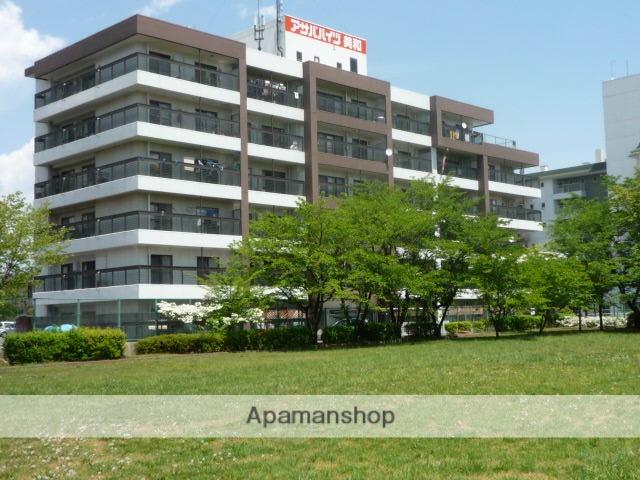 長野県長野市、善光寺下駅徒歩20分の築37年 6階建の賃貸マンション