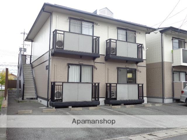 長野県長野市、長野駅長電バスバス25分南長池下車後徒歩3分の築21年 2階建の賃貸アパート