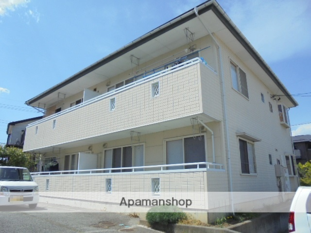 長野県長野市、附属中学前駅徒歩17分の築21年 2階建の賃貸アパート
