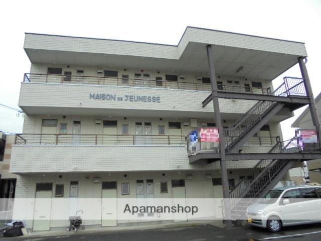 長野県長野市、長野駅徒歩40分の築22年 3階建の賃貸マンション