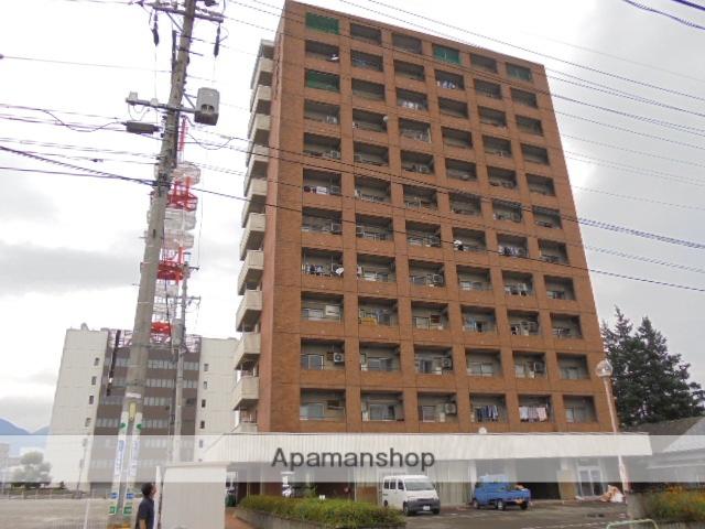長野県長野市、市役所前駅徒歩19分の築35年 12階建の賃貸マンション