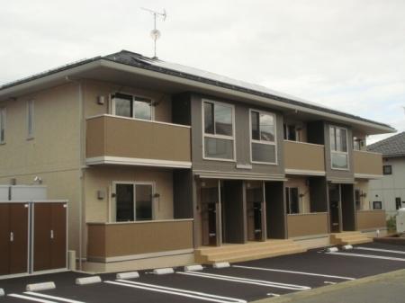 長野県長野市、北長野駅徒歩18分の新築 2階建の賃貸アパート