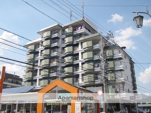 長野県長野市、善光寺下駅徒歩19分の築40年 8階建の賃貸マンション