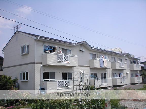 長野県長野市、市役所前駅徒歩22分の築20年 2階建の賃貸アパート