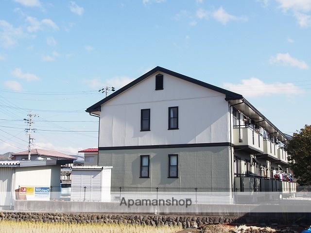 長野県茅野市、茅野駅徒歩8分の築20年 2階建の賃貸アパート
