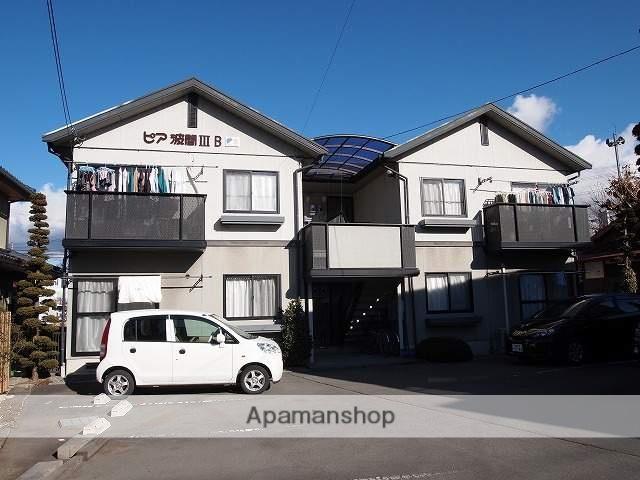 長野県茅野市、茅野駅徒歩15分の築22年 2階建の賃貸アパート