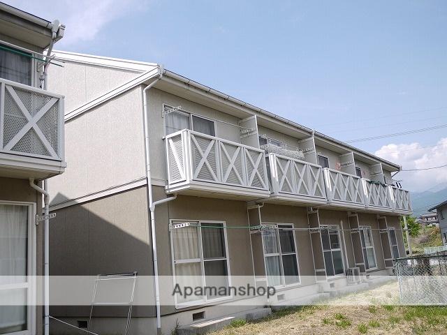 長野県諏訪郡富士見町、富士見駅徒歩7分の築23年 2階建の賃貸アパート
