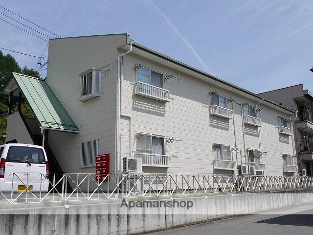 長野県茅野市、茅野駅バス12分長倉下車後徒歩2分の築25年 2階建の賃貸アパート