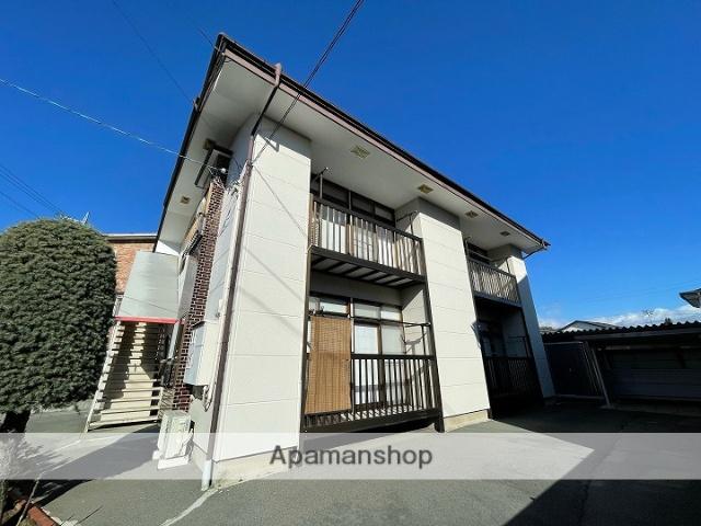 長野県茅野市、茅野駅徒歩4分の築27年 2階建の賃貸アパート