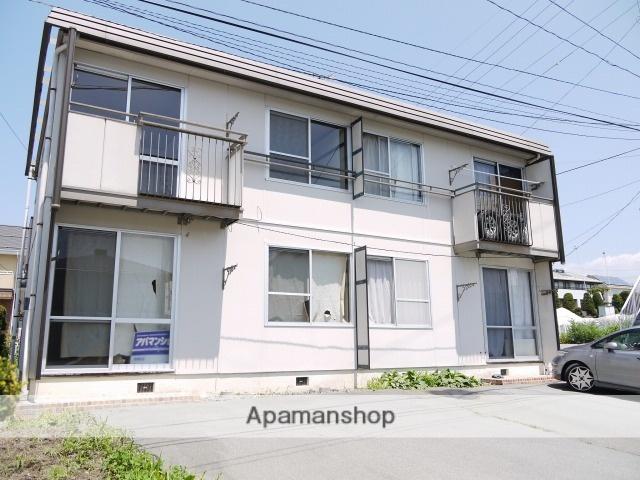 長野県茅野市、茅野駅バス14分田道下車後徒歩6分の築30年 2階建の賃貸アパート
