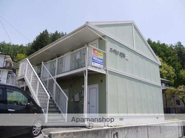 長野県茅野市、茅野駅バス11分神の原入口下車後徒歩15分の築24年 2階建の賃貸アパート