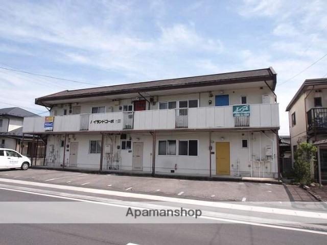 長野県茅野市、茅野駅バス16分中大塩団地中下車後徒歩1分の築30年 2階建の賃貸アパート