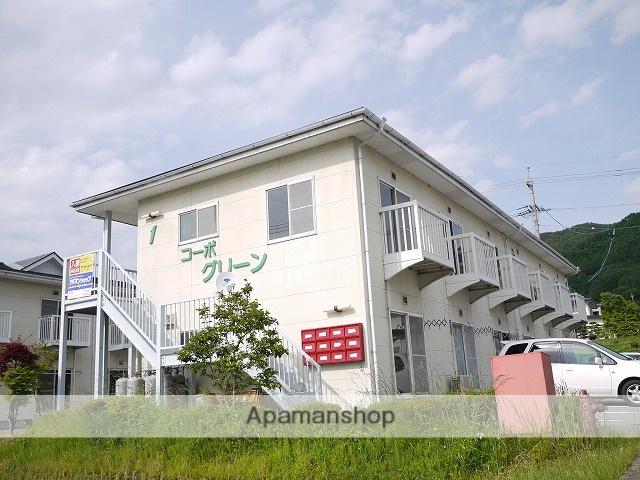 長野県茅野市、茅野駅徒歩30分の築28年 2階建の賃貸アパート