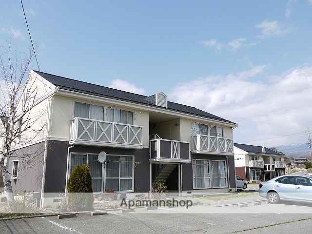 長野県諏訪郡富士見町、富士見駅徒歩7分の築25年 2階建の賃貸アパート