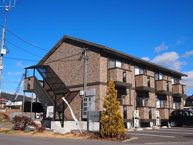 長野県茅野市、茅野駅徒歩25分の築12年 2階建の賃貸アパート