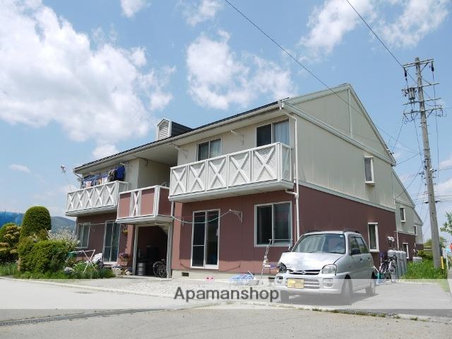 長野県茅野市、茅野駅徒歩13分の築25年 2階建の賃貸アパート