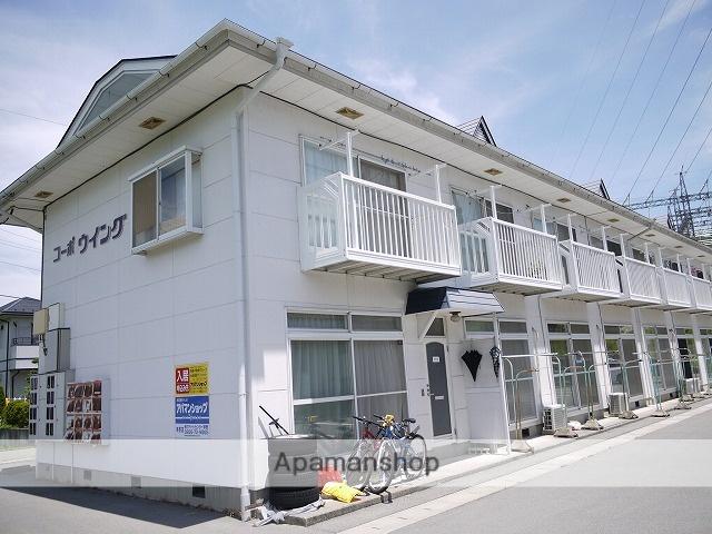 長野県茅野市、茅野駅徒歩13分の築26年 2階建の賃貸アパート