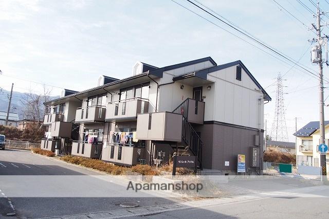 長野県茅野市、茅野駅徒歩10分の築23年 2階建の賃貸アパート