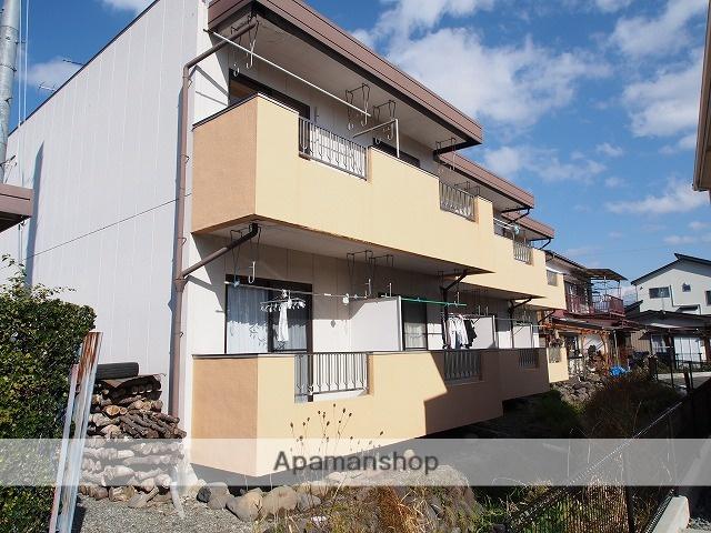 長野県茅野市、茅野駅徒歩10分の築26年 2階建の賃貸アパート