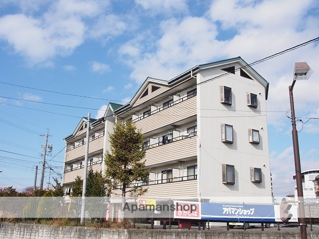 長野県茅野市、茅野駅徒歩4分の築25年 4階建の賃貸マンション