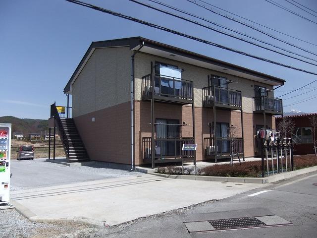 長野県茅野市、茅野駅徒歩65分の築9年 2階建の賃貸アパート