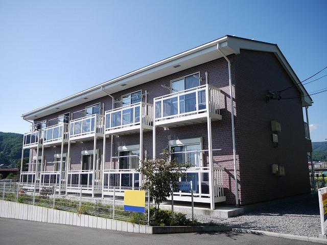 長野県茅野市、茅野駅バス15分福沢入口下車後徒歩5分の築9年 2階建の賃貸アパート