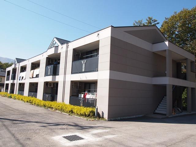 長野県諏訪郡富士見町、富士見駅徒歩25分の築10年 2階建の賃貸アパート