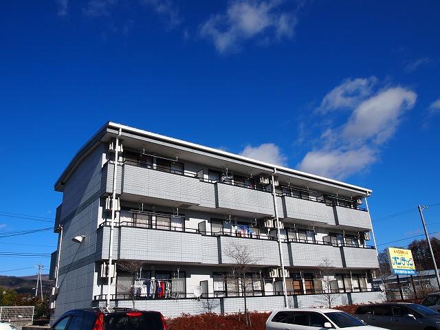 長野県茅野市、茅野駅徒歩42分の築17年 3階建の賃貸マンション