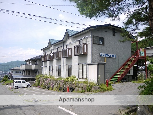 長野県茅野市、茅野駅バス25分西茅野入口下車後徒歩6分の築18年 2階建の賃貸アパート