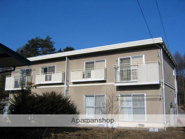 長野県諏訪郡富士見町、富士見駅徒歩15分の築25年 2階建の賃貸アパート