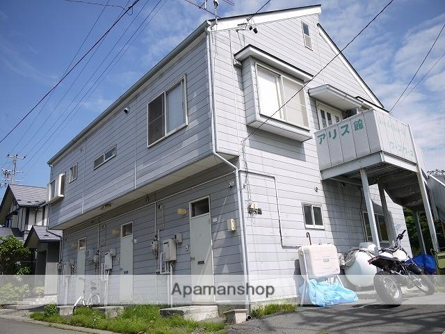 長野県茅野市、茅野駅徒歩8分の築24年 3階建の賃貸アパート