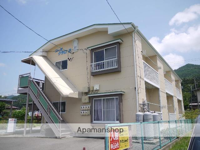 長野県茅野市、茅野駅徒歩30分の築24年 2階建の賃貸アパート