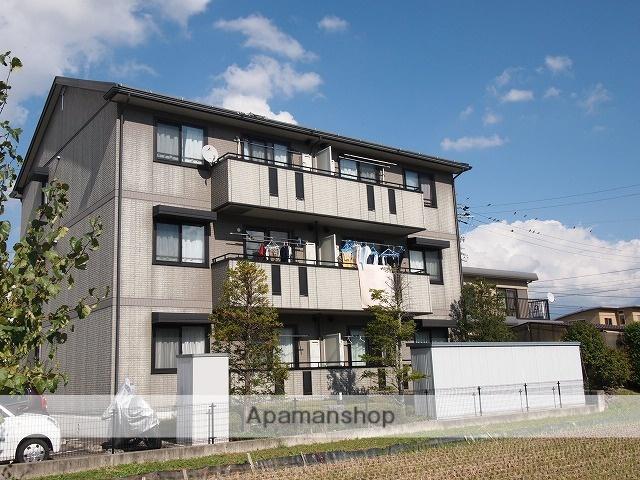 長野県茅野市、茅野駅徒歩15分の築17年 3階建の賃貸アパート