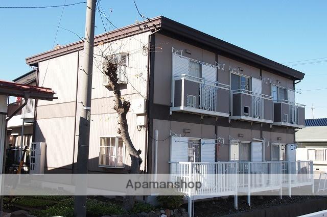 長野県茅野市、茅野駅徒歩15分の築25年 2階建の賃貸アパート