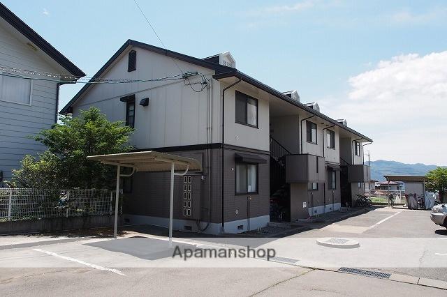 長野県茅野市、茅野駅バス14分田道下車後徒歩10分の築22年 2階建の賃貸アパート
