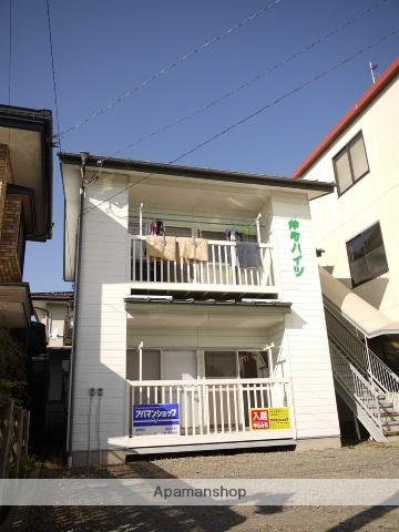 長野県茅野市、茅野駅徒歩5分の築23年 2階建の賃貸アパート