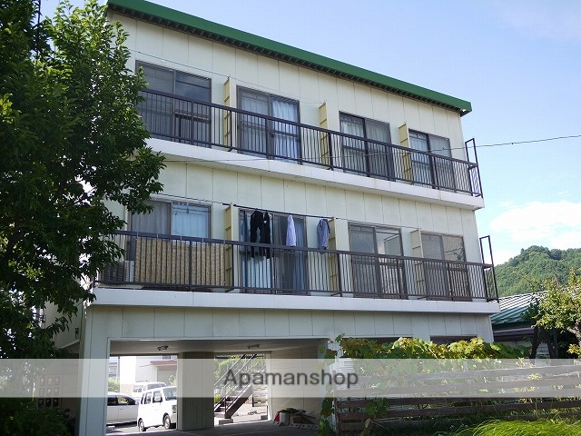 長野県茅野市、茅野駅徒歩12分の築26年 3階建の賃貸マンション