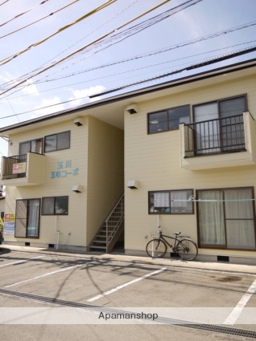長野県茅野市、茅野駅バス11分神の原入口下車後徒歩5分の築25年 2階建の賃貸アパート