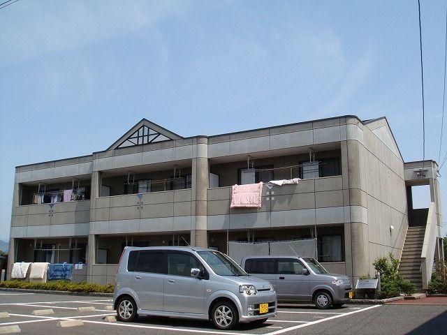 岐阜県養老郡養老町、美濃高田駅徒歩3分の築13年 2階建の賃貸アパート