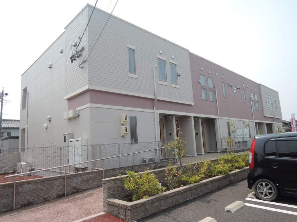 岐阜県大垣市、西大垣駅徒歩7分の築4年 2階建の賃貸アパート