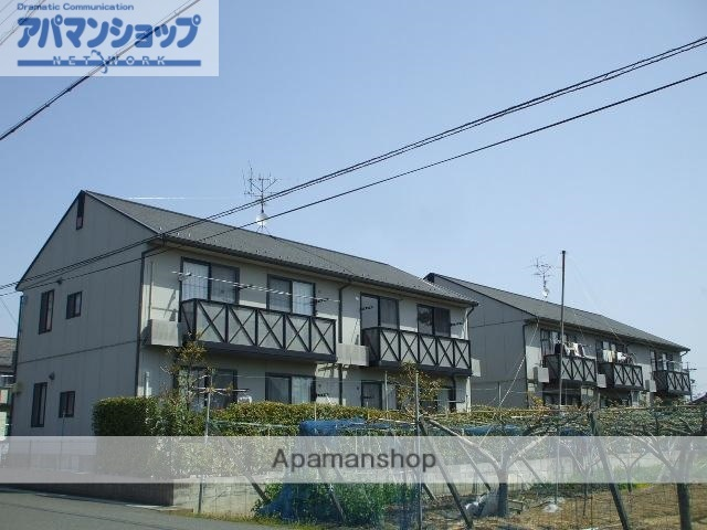 岐阜県大垣市、美濃青柳駅徒歩18分の築17年 2階建の賃貸アパート