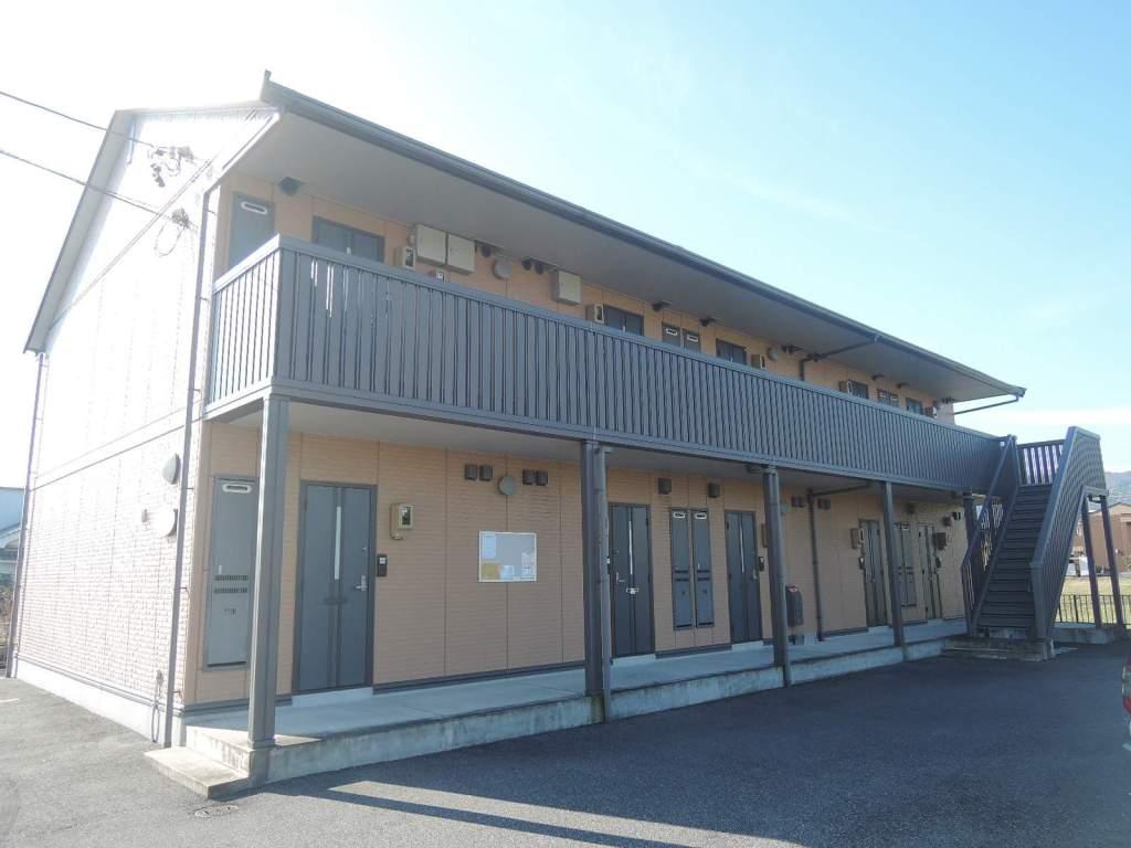 岐阜県不破郡垂井町の築10年 2階建の賃貸アパート