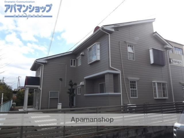 岐阜県大垣市の築24年 2階建の賃貸アパート