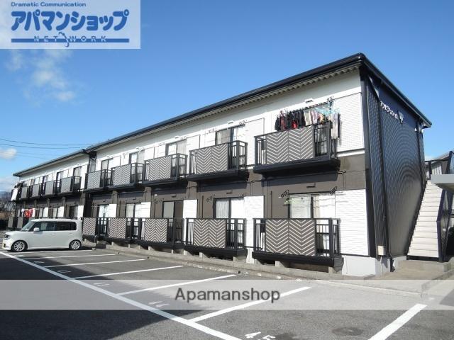 岐阜県大垣市、大垣駅徒歩27分の築22年 2階建の賃貸アパート